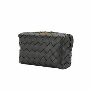 Bottega Veneta Mini Intrecciato Crossbody Camera